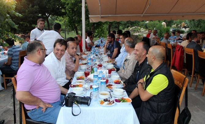 Atatürk Üniversitesi'nden Gazetecilere İftar Yemeği
