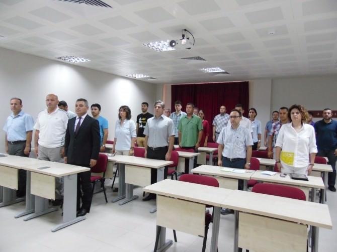 ÇOMÜ Besyo Akademik Kurul Toplantısı Gerçekleştirildi