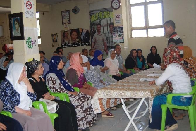 DBP İdil'de Suriye İle Dayanışma Kampanyası Başlattı