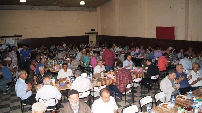 Kağızman'da AK Parti'nin İftar Yemeği
