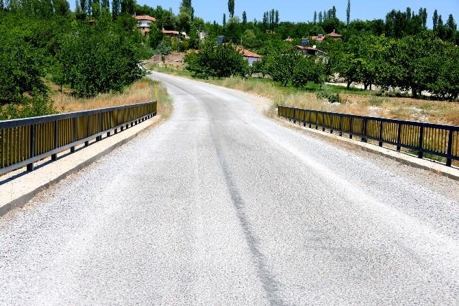 Şahnahan Ve Suluköy Grup Yolu Asfaltlandı