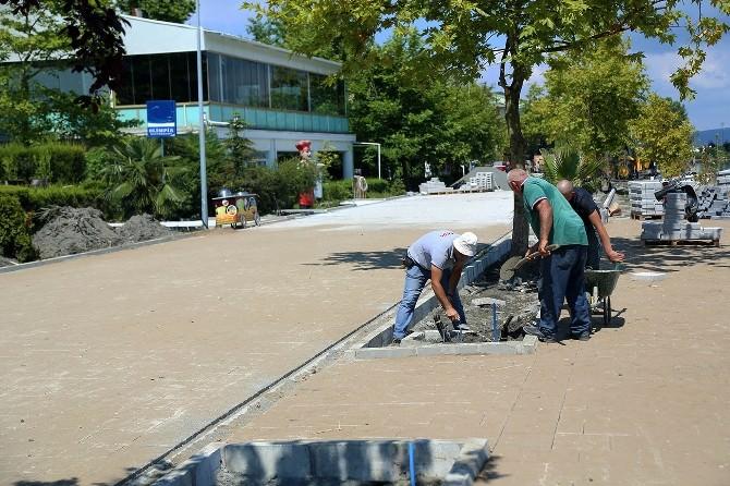 Sapanca Sahilinde Onarım Ve Düzenleme Çalışmaları Devam Ediyor