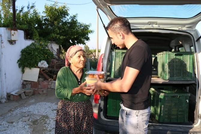 Saruhanlı Belediyesi'nden İftarda Evlere Yemek Servisi