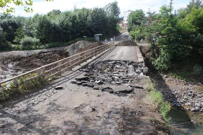 Büyüklü Köprüsü Yenileniyor