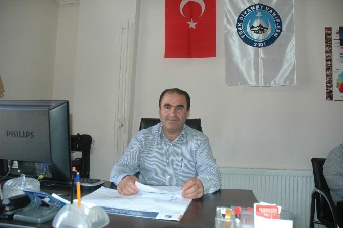 Türk Dıyanet Vakıf Sendikası'ndan Basın Açıklaması