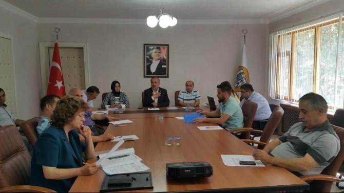 Ulus'ta Temmuz Ayı Meclis Toplantısı Yapıldı