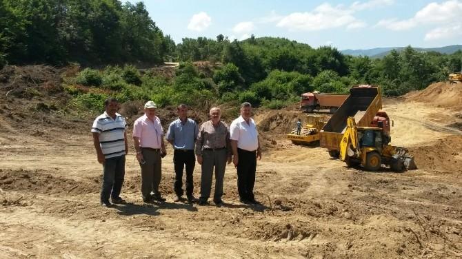 Yalova İlyas Köy Göleti'nin Yapımına Başlandı