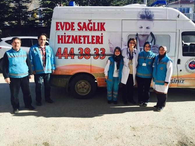 Yozgat'ta Evde Bakım Hizmetleri Aralıksız Sürüyor