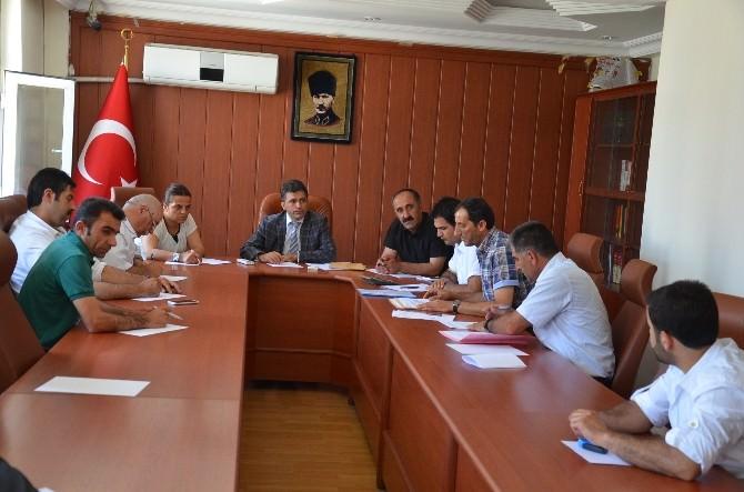 Yüksekova'da İhale Toplantısı