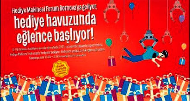 Forum Bornova'da 'hediye havuzu'