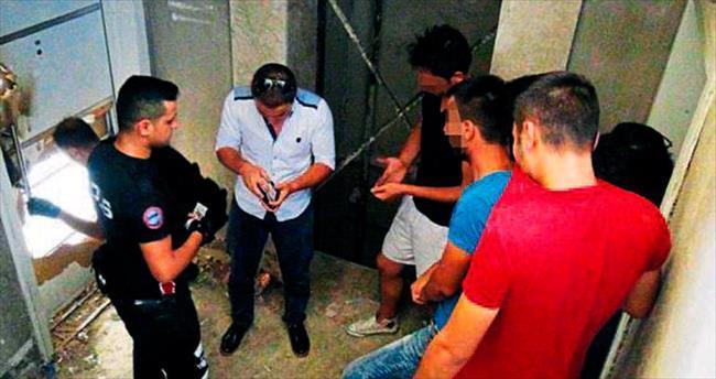 Kaçak müteahhidin sitesi suçlu yuvası