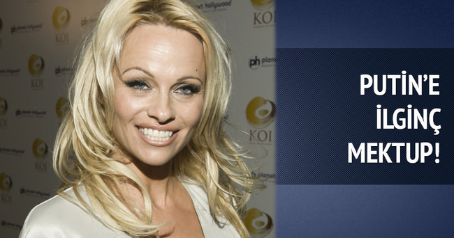 Pamela Anderson Putin'e mektup yazdı