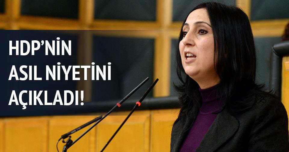HDP'li Figen Yüksekdağ asıl niyetlerini açıkladı