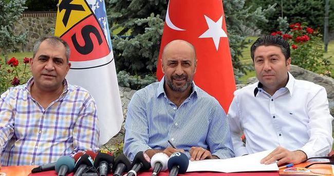 Kayserispor'da ikinci Tolunay Kafkas dönemi