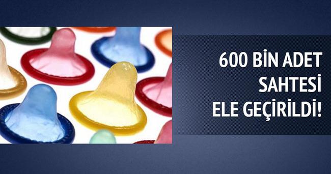 600 bin adet sahtesi ele geçirildi!