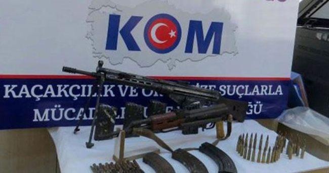 Diyarbakır'da silah operasyonu