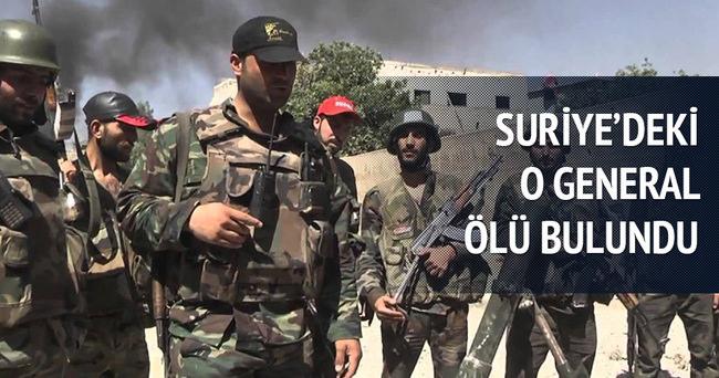 Suriye hava kuvvetleri istihbarat generali ölü bulundu