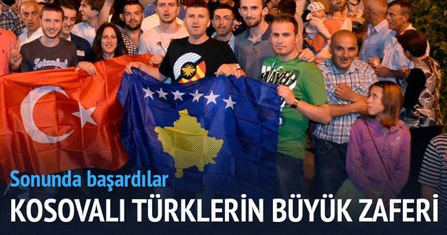 Kosovalı Türklerin zaferi