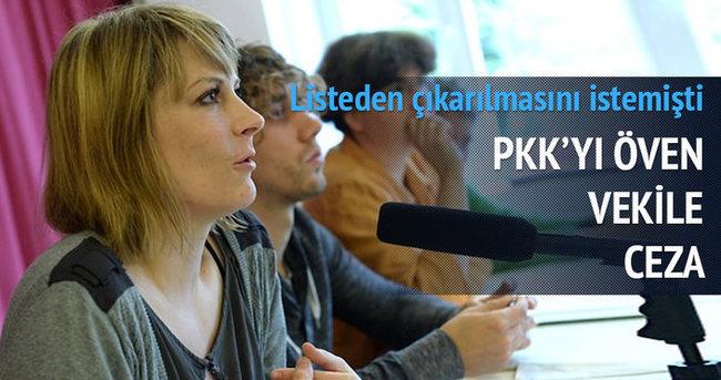 PKK'yı öven vekile ceza