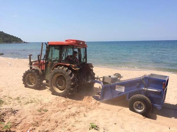 Amasra'da Plajlar Temizleniyor