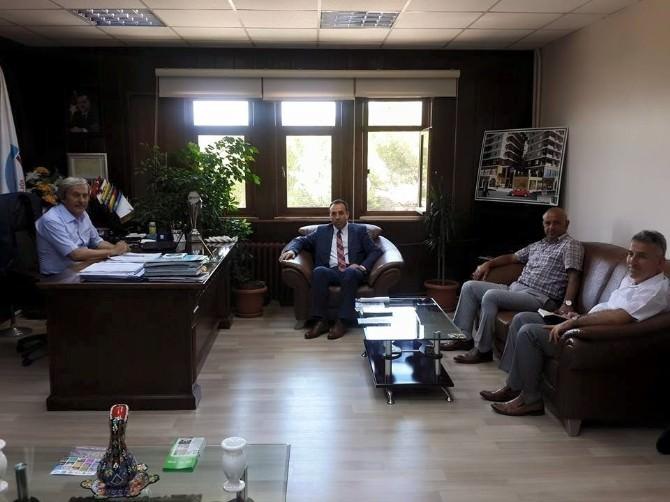 Bilecik Gençlik Hizmetleri Ve Spor İl Müdürü Yıldız'dan Osmaneli'ye Ziyaret