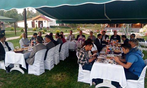 Daday Muhtarlar Derneği'nden Kaymakam Zafer Sağ'a Son İftar Programı