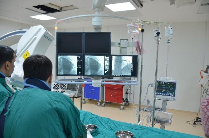 Devlet Hastanesi'nde Koroner Anjiografi Ünitesi Hizmeti