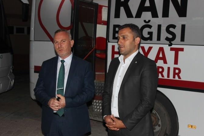 Büyükşehir'in Kan Bağışı Kampanyası: Hedef 2 Bin 500