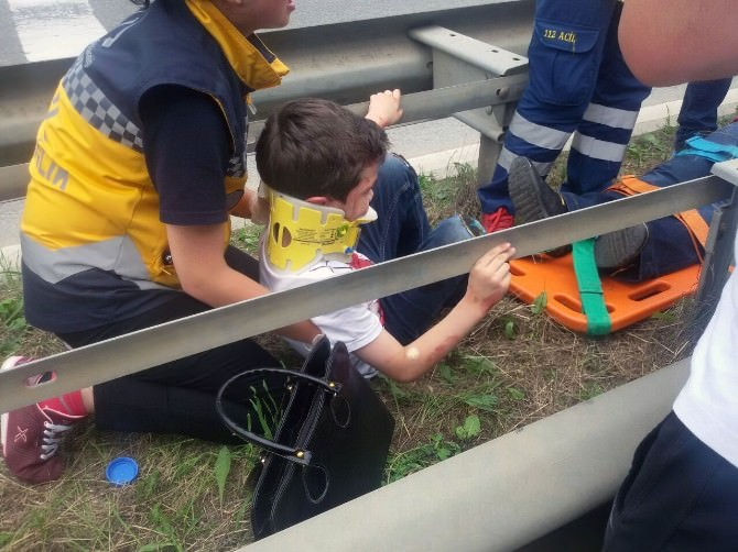 Giresun'da Trafik Kazası: 6 Yaralı