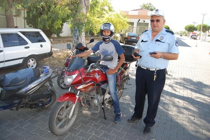 5 Motosiklet Ve Sürücüsüne Toplam 19 Bin Lira Ceza