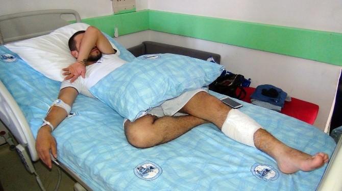 Bacağındaki Mermi 2 Ay Sonra Fark Edildi