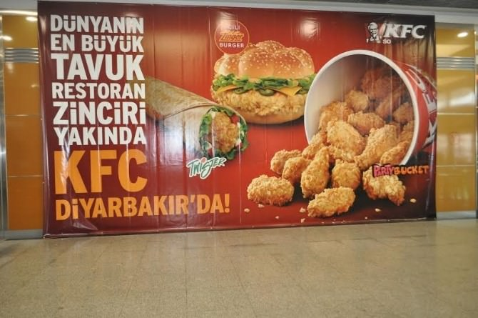 Kfc İlk Franchise Restoranını Diyarbakır'da Açıyor
