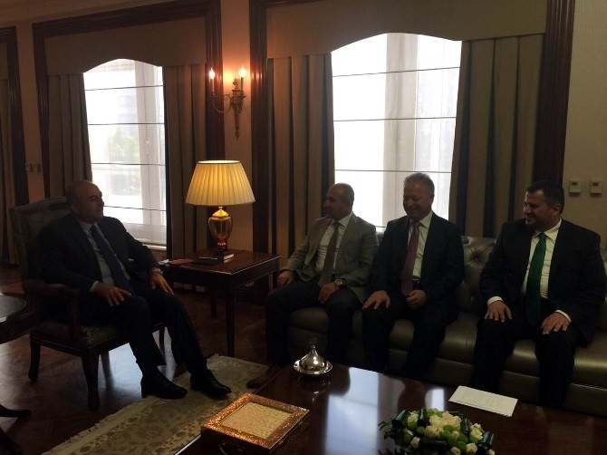 Başkan Kara, Dışişleri Bakanı Çavuşoğlu İle Görüştü