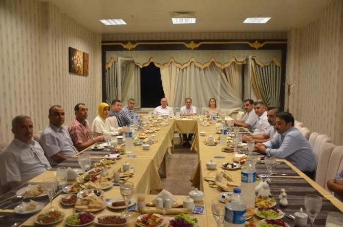 Vali Süleyman Tapsız, Milli Eğitim Camiasıyla İftarda Buluştu