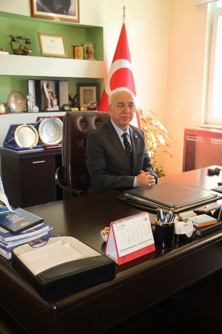 Başkan Hiçyılmaz İKV Başkanlığına Seçilen Zeytinoğlu'nu Kutladı