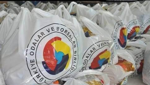 Kutbo'dan 680 Aileye Gıda Yardımı