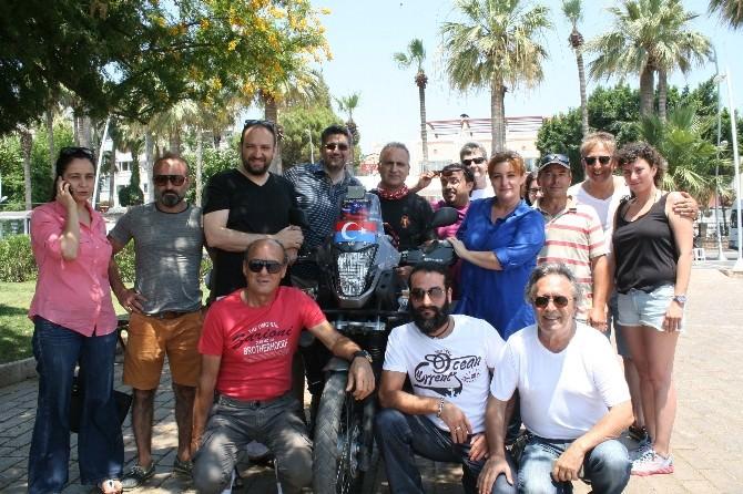 Türk Motorcu Uygur Tükleri'ne Destek İçin Yola Çıktı