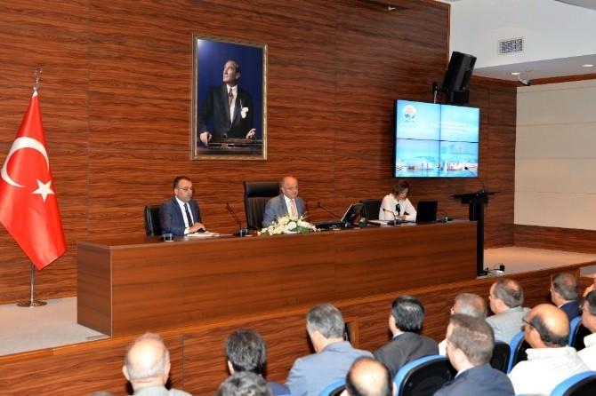 İl Koordinasyon Kurulu Toplantısı Vali Çakacak Başkanlığı'nda Yapıldı