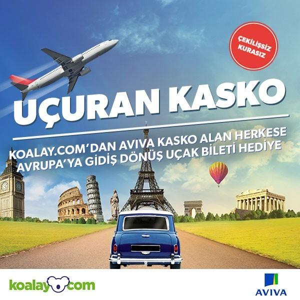 Kasko Yaptırana Avrupa Bileti Şansı