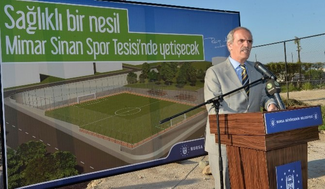 Spor Kenti Bursa'ya Bir Tesis Daha