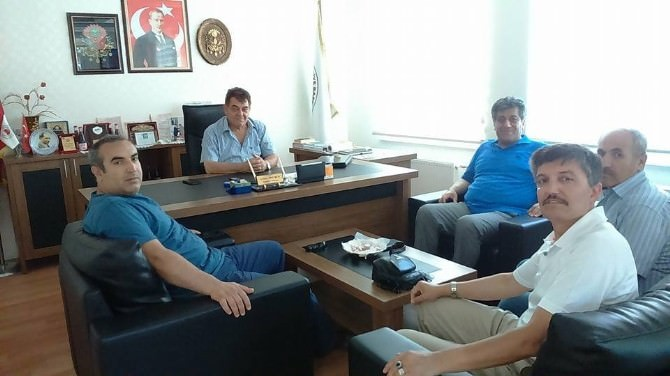 Türkav Eskişehir Şubesi'nden İnhisar Belediye Başkanı'na Ziyaret
