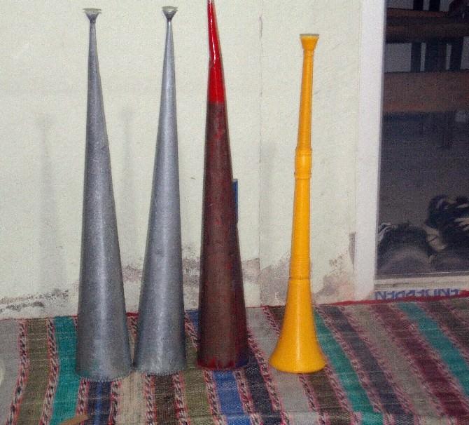 Karadenizliler Vuvuzela İle Sahura Kalkıyor