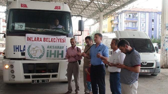 Aksaray İHH'dan Suriyelilere Yardım