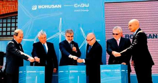 Borusan 136 Mw'lık rüzgâr estirecek