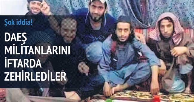 Musul'da DEAŞ militanlarını iftarda zehirlediler