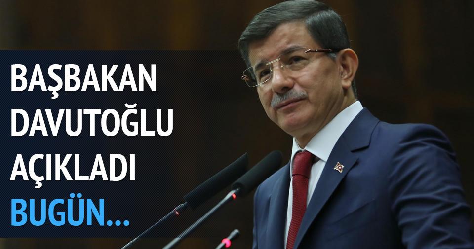 Davutoğlu: Hükümeti kurma görevi bugün verilecek