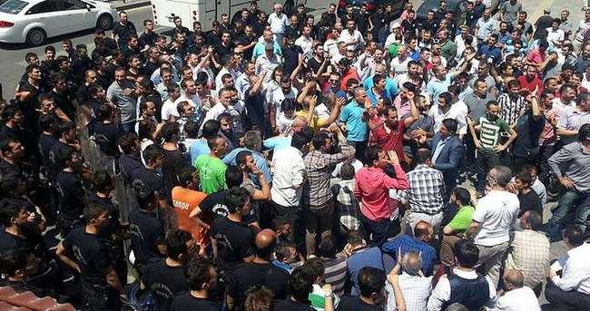 Ankara'da esnafla değnekçiler birbirine girdi