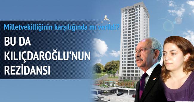 Bu da Zeynep Kılıçdaroğlu'nun rezidansı