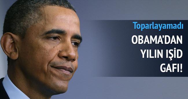 Obama'dan itiraf gibi gaf