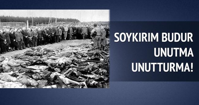 Srebrenitsa soykırımının 20.yılı